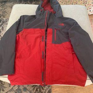 Men's Triclimate Northface Jacket size Large